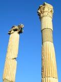 De Kolommen van Ephesus Stock Foto's