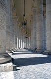 De kolommen van heilige Peter Stock Fotografie