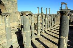 De kolommen van het basalt royalty-vrije stock foto's