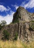 De kolommen van het basalt royalty-vrije stock afbeelding