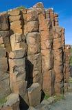 De kolommen van het basalt Stock Afbeelding