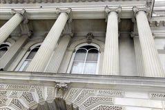 De Kolommen van het gerechtsgebouw Royalty-vrije Stock Fotografie