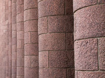 De kolommen van het graniet Royalty-vrije Stock Foto's