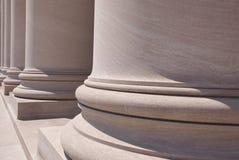 De Kolommen van het National Gallery Royalty-vrije Stock Fotografie