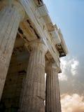 De kolommen van Parthenon royalty-vrije stock afbeeldingen