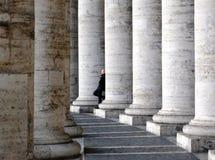 De kolommen van Vatikaan Stock Afbeelding