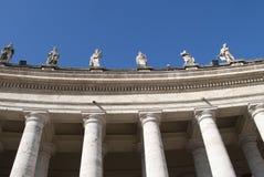 De kolommen van Vatikaan Stock Fotografie