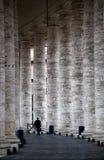 De kolommen van Vatikaan Royalty-vrije Stock Foto