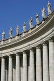 De kolommen van Vatikaan Stock Foto's