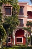 De koloniale bouw 2 Stock Afbeelding
