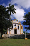 De koloniale kerk van Fernando de Noronha - verticaal Stock Afbeeldingen