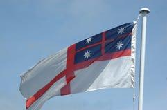 De koloniale vlag van Nieuw Zeeland stock foto's