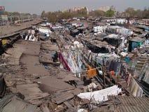 De Kolonie Mumbai van Washermen Stock Foto