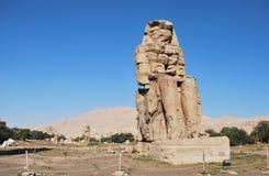 De Kolos van Memnon, Egypte stock fotografie