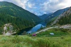 De Kolsaymeren zijn natuurlijke schoonheid van Kazachstan stock foto's