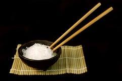 De Kom van de Noedel van de rijst royalty-vrije stock foto's