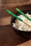 De kom van de rijst Royalty-vrije Stock Foto