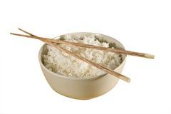 De kom van de rijst Stock Foto