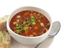 De kom van de soep stock afbeeldingen