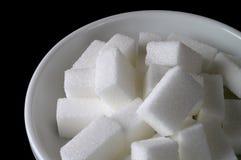 De kom van de suiker (close-up) Royalty-vrije Stock Fotografie