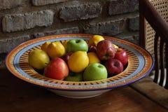 De kom van het fruit Royalty-vrije Stock Afbeelding