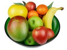 De Kom van het fruit Stock Afbeelding