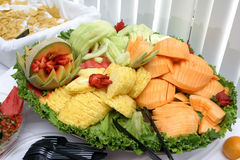 De Kom van het fruit Stock Fotografie