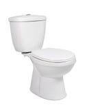 De kom van het toilet Royalty-vrije Stock Foto's