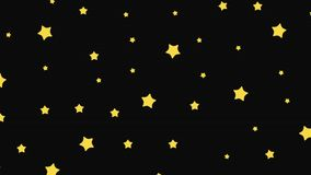 De komende sterren vector illustratie