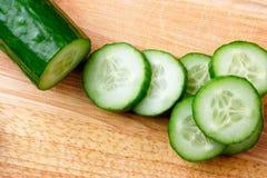 De komkommer van de besnoeiing Stock Foto's