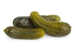De komkommer van groenten in het zuur Stock Foto