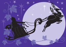 De komst van de Kerstman vector illustratie