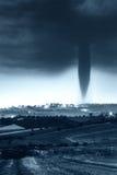 De komst van de tornado Royalty-vrije Stock Foto's