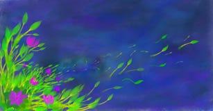 De Komst van het onweer Stock Afbeeldingen