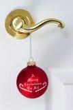 De komst van Kerstmis stock fotografie