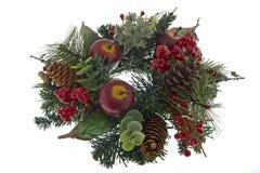De Komst van Kerstmis van de decoratie van de lijst stock foto