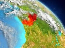 De Kongo van baan Royalty-vrije Stock Afbeeldingen