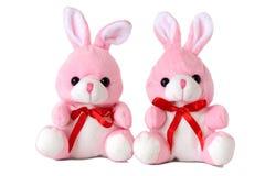 De konijnen van het stuk speelgoed stock foto's