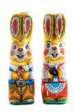 De konijntjes van de chocolade Royalty-vrije Stock Foto's