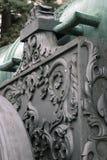 De Koning Cannon van het tsaarkanon in Moskou het Kremlin, Royalty-vrije Stock Foto's