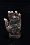 De koning van de aap in de magische hand van Boedha Royalty-vrije Stock Fotografie