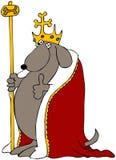De Koning van de hond vector illustratie