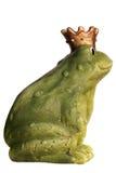 De Koning van de kikker Stock Foto's