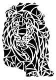 De koning van de leeuw van dieren Royalty-vrije Stock Fotografie