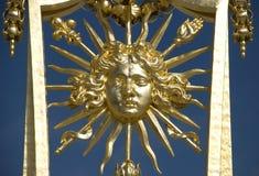 De Koning van de Zon van Versailles stock foto's