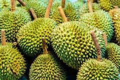De Koning van Durian van fruit Stock Foto