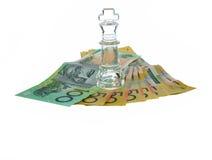 De Koning van het geld Royalty-vrije Stock Afbeeldingen