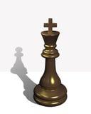 De koning van het schaak Royalty-vrije Stock Afbeelding