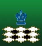 De koning van het schaak Stock Foto's