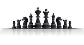 De Koning van het schaak Stock Afbeelding